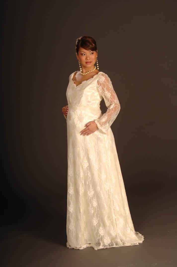 Matrimonio  gli abiti da sposa per la donna in gravidanza - Blogmamma.it 3cf83dc0e11