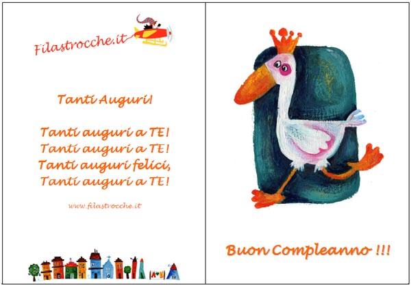 Feste E Compleanni Biglietti D Auguri Da Stampare Blogmamma It