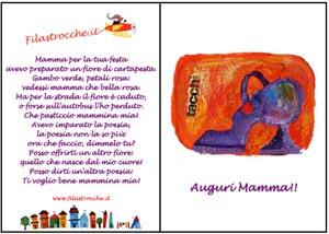 Festa della mamma biglietti d 39 auguri - Festoni compleanno fatti in casa ...