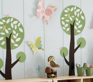 Decorazioni fai da te per la cameretta dei bambini - Decorazioni stanza bimba ...