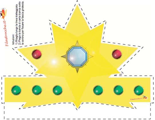 Corona feste compleanno for Planimetrie della cabina di log gratuito