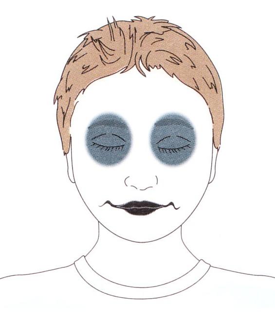 Ghiaccio cosmetico per la struttura di persona