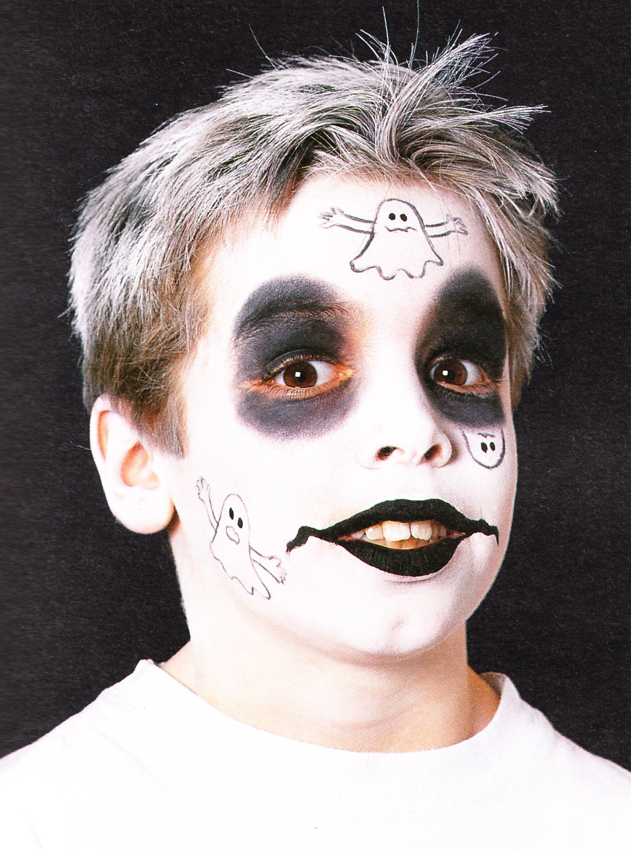 Famoso Halloween: consigli per truccare il viso dei bambini - Blogmamma  SZ85