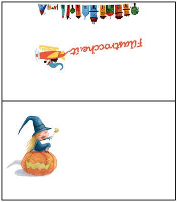 Segnaposto per le feste di Halloween di Filastrocche.it