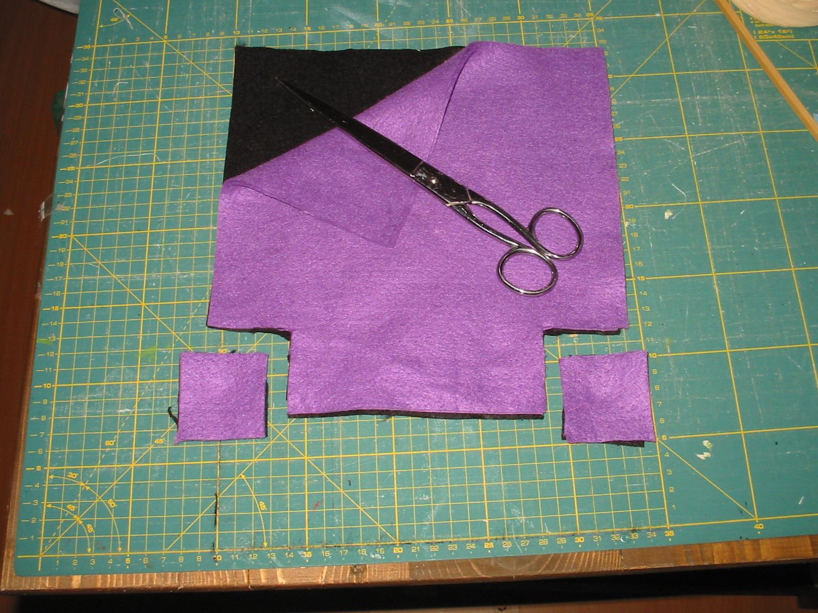abbastanza Cucito Creativo: come creare un cestino per Halloween, istruzioni  XN74