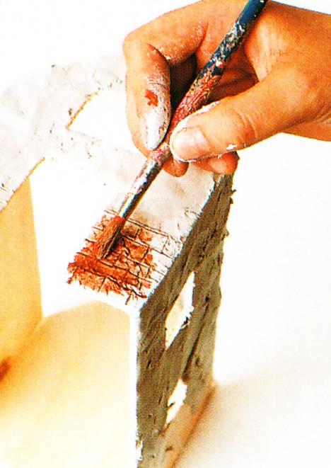Costruire un presepe artigianale con il fai da te for Tegole del tetto della casetta