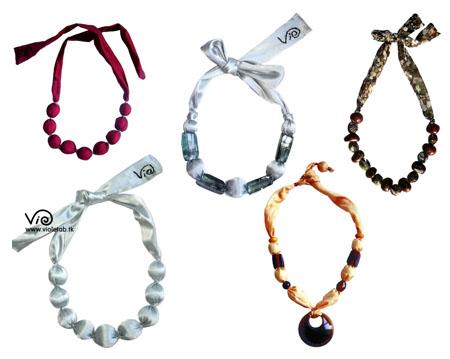 La boutique del bijoux riciclo creativo la collana di for Arte del riciclo fai da te