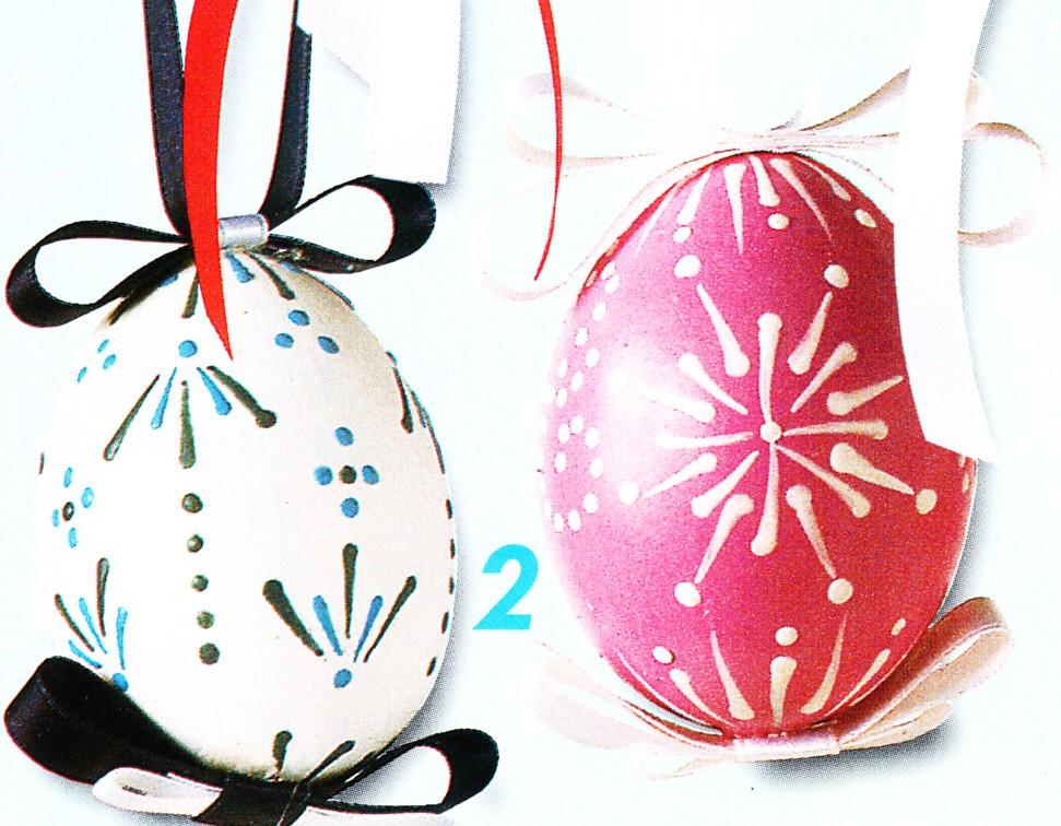 Decorazioni pasquali fai da te uova colorate con la cera - Decorazioni pasquali fai da te ...