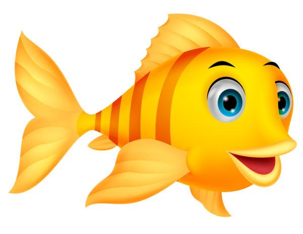 pesce d'aprile giallo