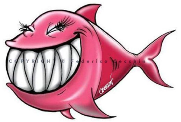 pesce d'aprile rosa by federico cecchin