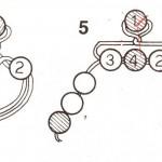 schema-foglie-uova-decorate-con-perline