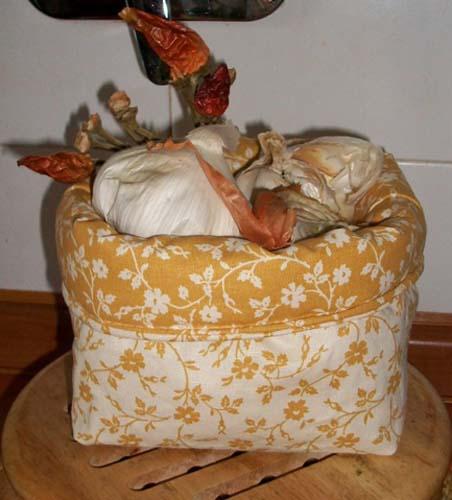 Cucito fai da te realizzare un portatutto in stoffa for Cucina giocattolo fai da te