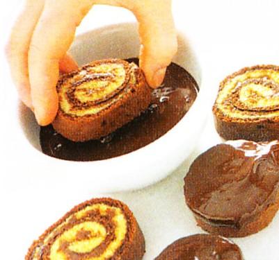 Ricette bimby girella al cioccolato