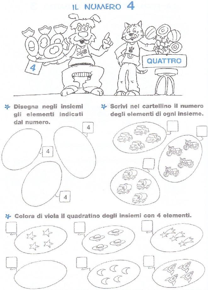 Favoloso esercizi-matematica-scuola-elementare-numero-4 - Blogmamma.it  WW28
