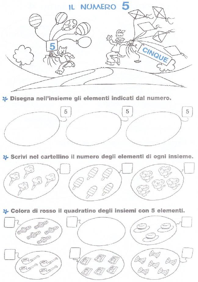 Esercizi Matematica Scuola Elementare Numero 5 Blogmamma