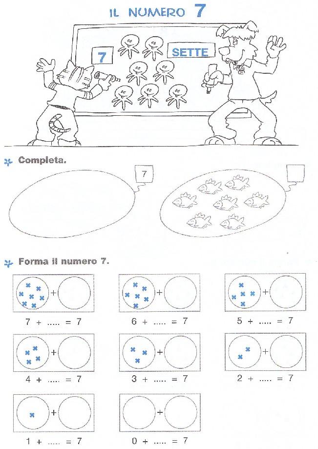 Famoso Esercizi di matematica per bambini scuola elementare, da stampare  YT04