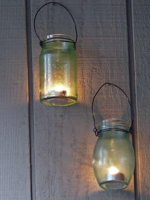 riciclare-vasi_-vetro_-lanterne-appese