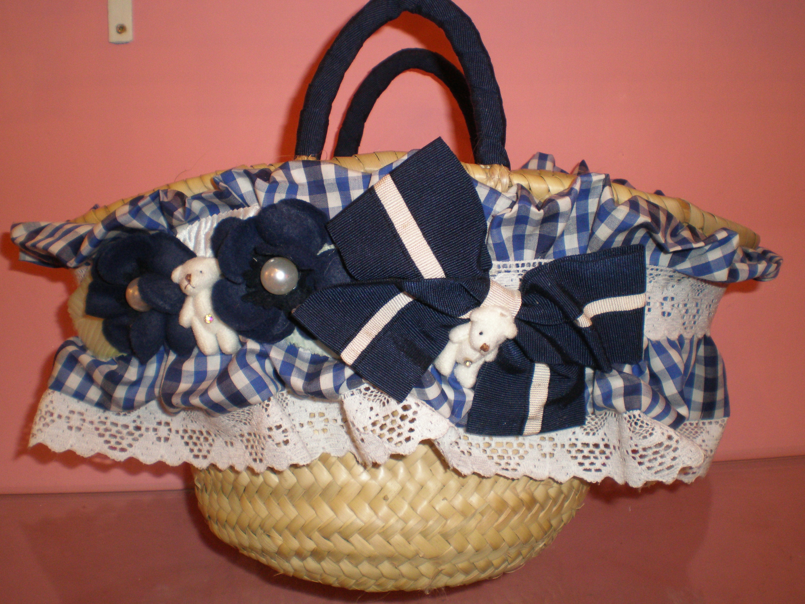 Borse Di Paglia Decorate Alluncinetto : Look estate come personalizzare una borsa di paglia