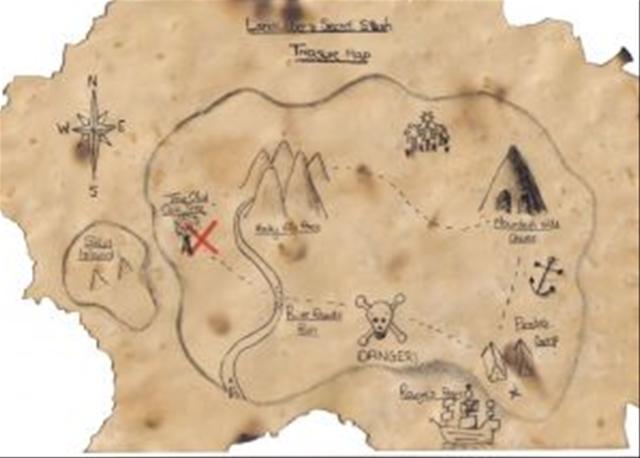 Attività con i bambini: come realizzare una mappa del tesoro - Blogmamma.it : Blogmamma.it
