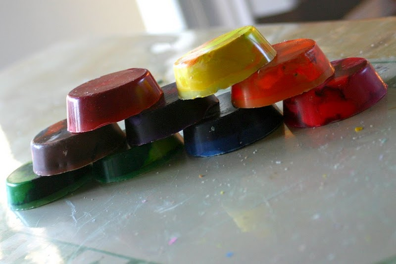 riciclare-pastelli-cera-formina