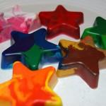 riciclare-pastelli-cera-stelle