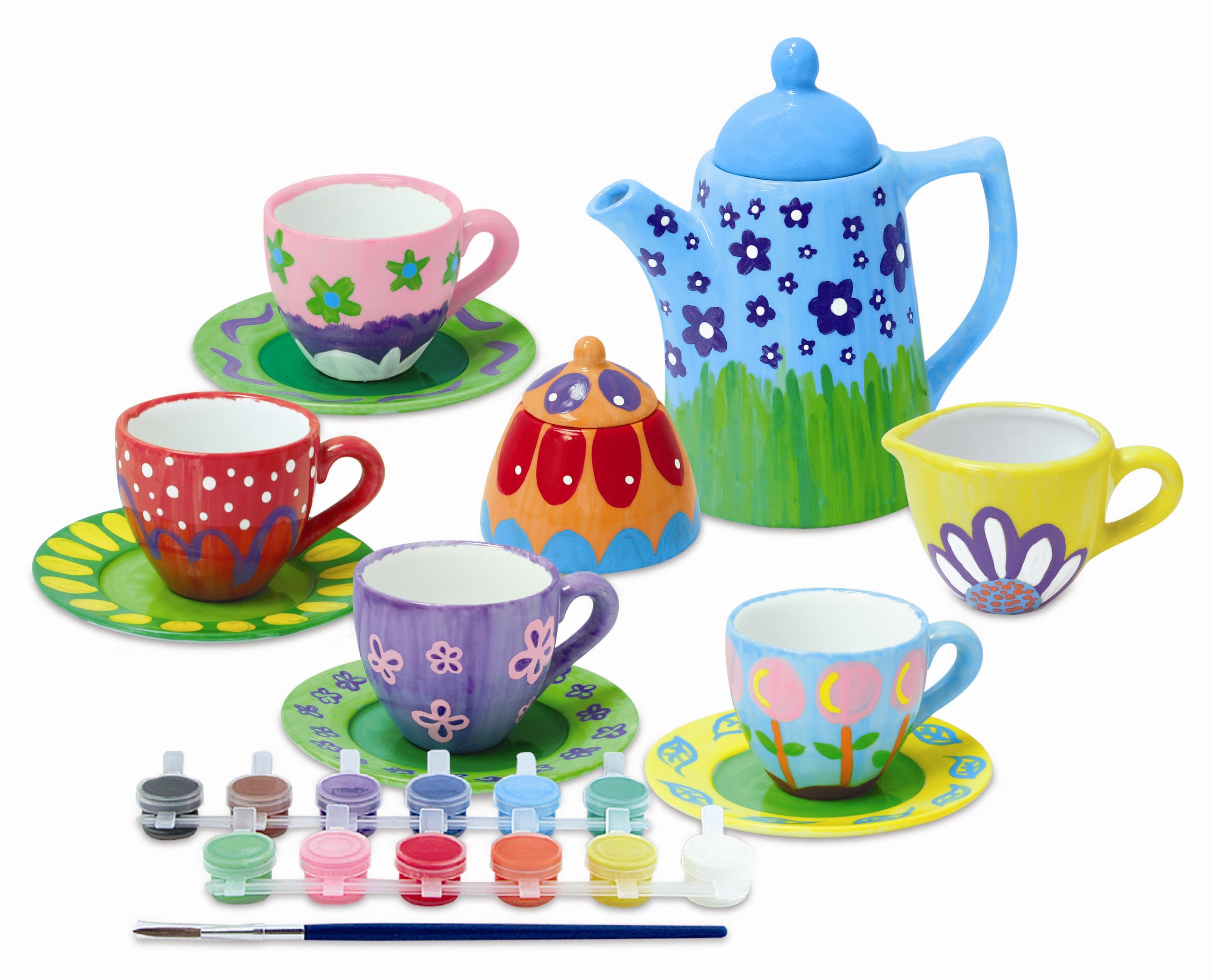 Lavoretti creativi ceramica colori - Colori per natale ...