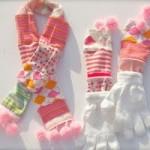 riciclo-creativo-guanti-sciarpa