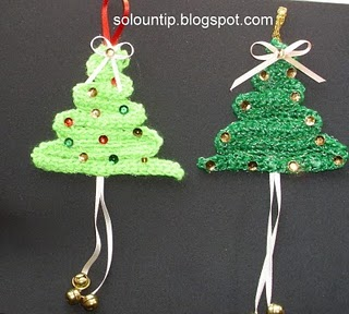 Addobbi e palline di natale fai da te all 39 uncinetto for Addobbi natalizi per porte