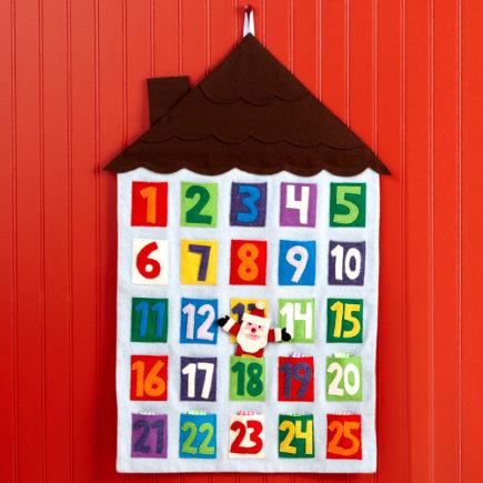 Calendario Avvento Fai Da Te Bambini.Calendari Dell Avvento Fai Da Te Col Cucito Creativo