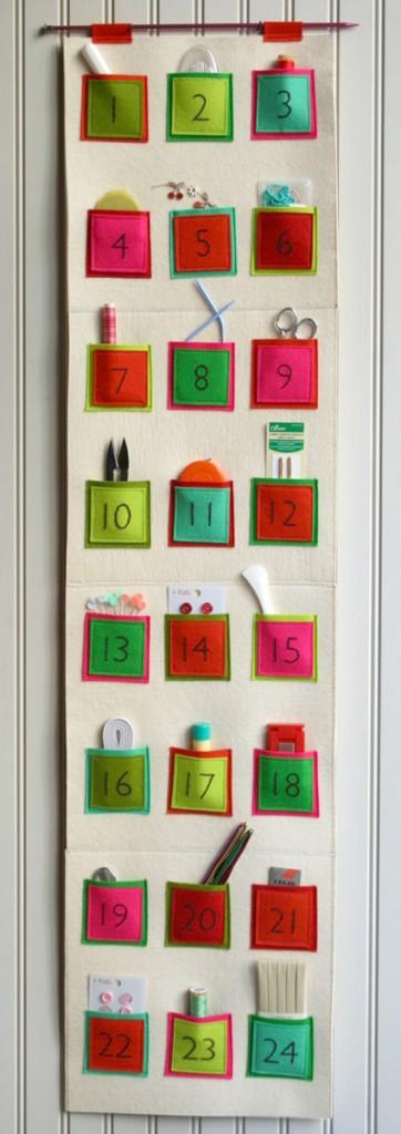 calendario-avvento-fai-da-te-feltro - Blogmamma.it ...