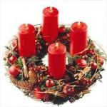 decorazioni-natale-corona-avvento-rossa
