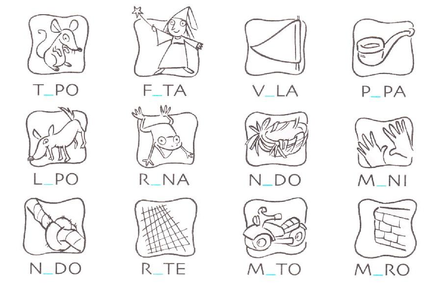 Molto Esercizi di Italiano per le elementari: imparare le vocali  EM49