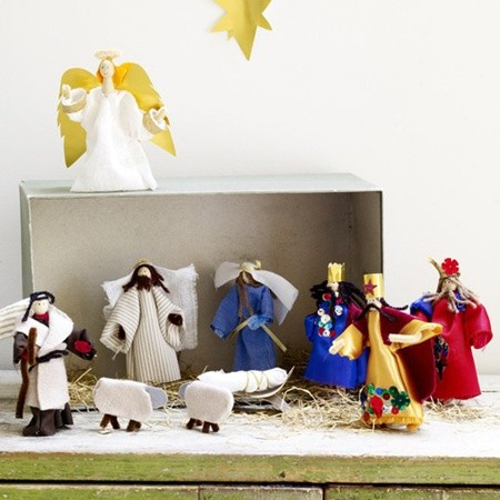 Préférence natale-presepe-fai-da-te-stoffa - Blogmamma.it : Blogmamma.it OA41