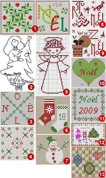 Natale e punto croce schemi per creare for Schemi di cabina di log