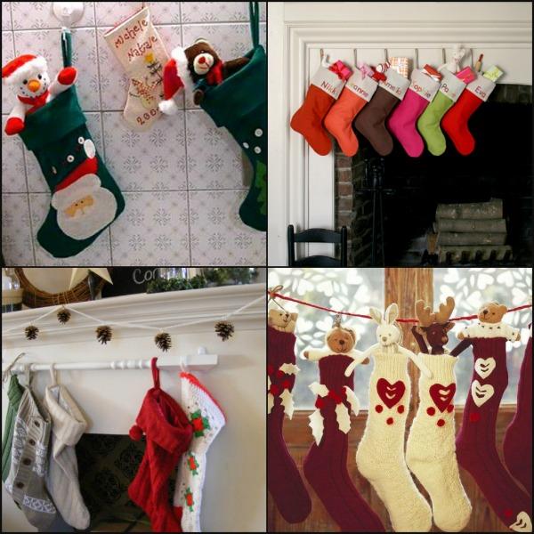 collage di calze fai da te