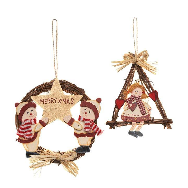 Decorazioni natalizie fuoriporta ovs - Decorazioni natalizie legno fai da te ...