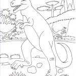 disegni-bambini-stampare-colorare-dinosauro