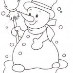 disegni-bambini-stampare-colorare-pupazzo-di-neve