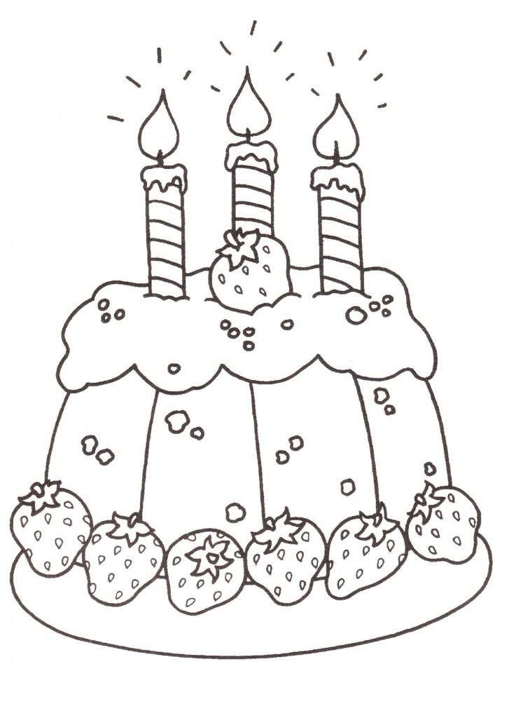 Favorito disegni-bambini-stampare-colorare-torta-compleanno - Blogmamma.it  OG25