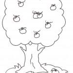 disegni-colorare-stampare-bambini-albero-frutta