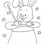 disegni-stampare-colorare-bambini-coniglio-cilindro