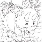 disegni-stampare-colorare-bambini-dinosauri