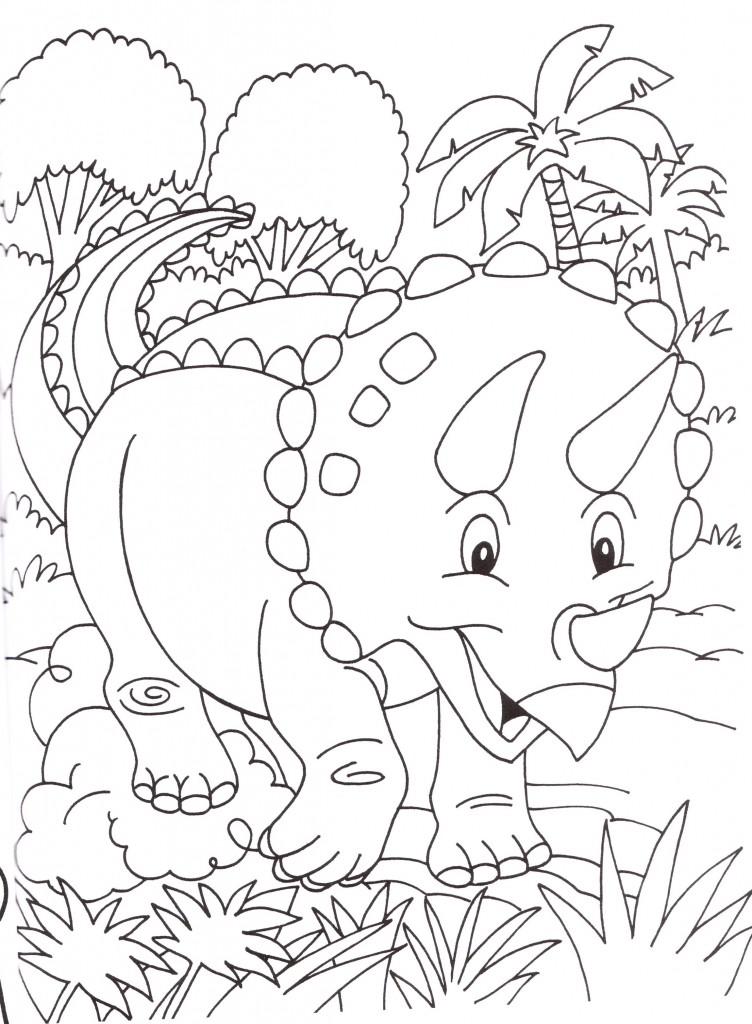 Disegni stampare colorare bambini dinosauri for Disegni da colorare paesaggi marini