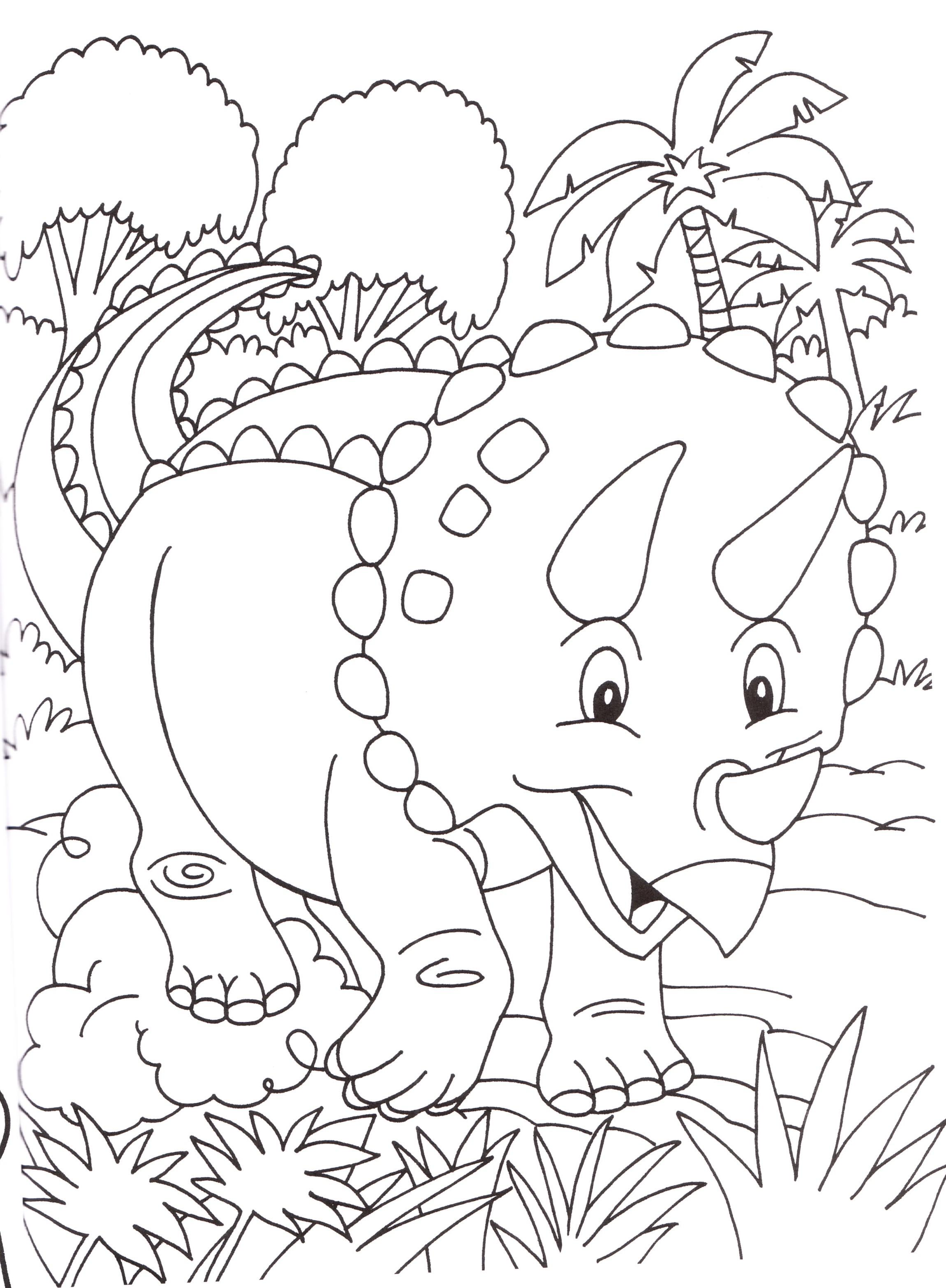 Disegni stampare colorare bambini dinosauri for Neonati da colorare e stampare
