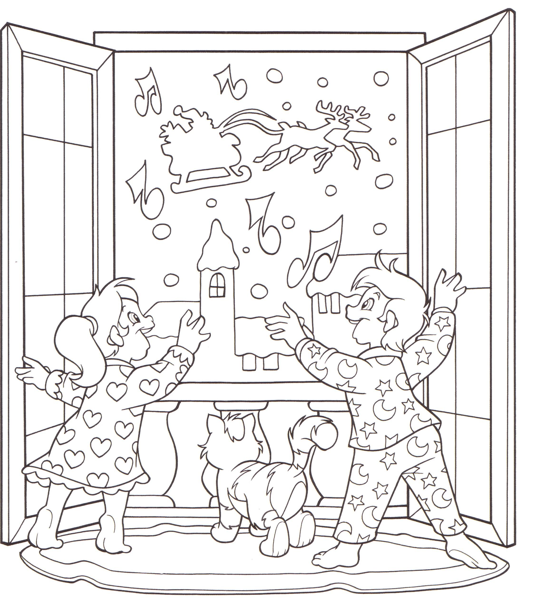 Vacanze con i bambini disegni da stampare e colorare - Finestra da colorare ...