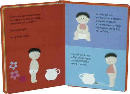libro per imparare ad usare il vasino