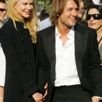 Nicole Kidman and Keith Urban arrive at the ARIA Awards in Sydney.