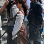 Johnny Depp and Penelope Cruz Film 'Pirates 4' in Hawaii