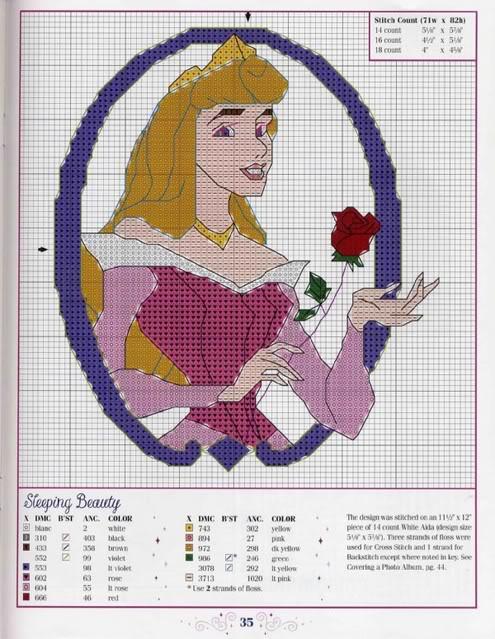 Eccezionale schemi-punto-croce-belle-principesse-disney - Blogmamma.it  RI47