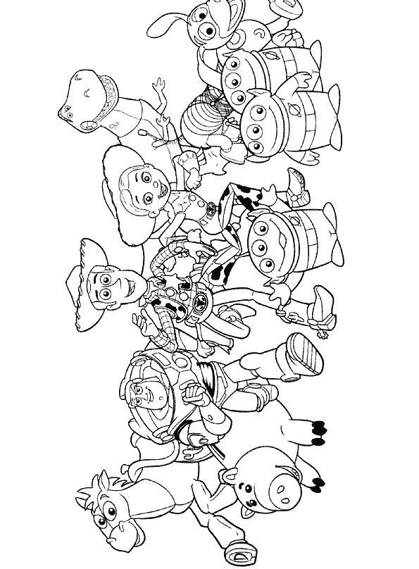 Toy Story Personaggi Colorare Blogmamma It Blogmamma It